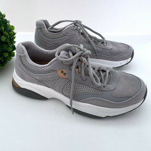 NEW Ryka Nova Suede Lace-Up Walking Sneakers 8.5